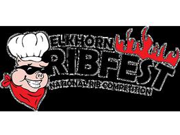 Elkhart Ribfest logo