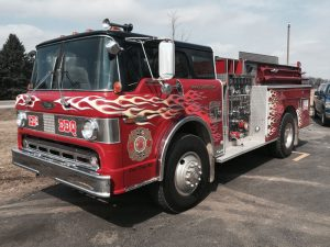 LDs fire engine
