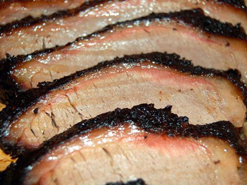 LD's sliced brisket